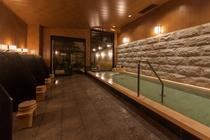 女性大浴場(内風呂/夜)