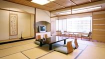 *12.5畳スタンダード客室は、大人5名でもお寛ぎ頂ける広さがございます。グループ旅行などでぜひ。