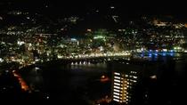 *熱海城から見た熱海の夜景全景。有名なフォトスポットです。ぜひお出かけください。