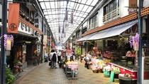 *ここ数年で熱海の駅前もかなりきれいに。地元産の商品が非常に充実。旅のお帰りにお土産をどうぞ!