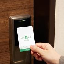 客室カードキーセンサー