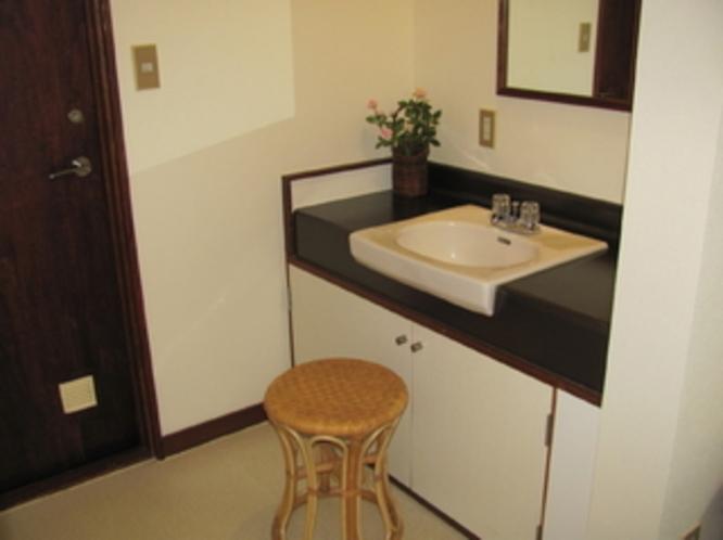 101号室 洗面台