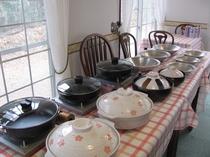 土鍋、しゃぶ鍋、すき焼き鍋