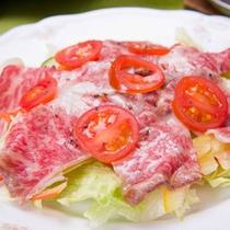 *お料理一例/食材は産地にこだわらず、その時期一番美味しいものを。毎日仕入れへ出かけます。
