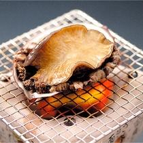 *お料理一例/新鮮アワビの踊り焼き!※献立は仕入れ状況により異なります。