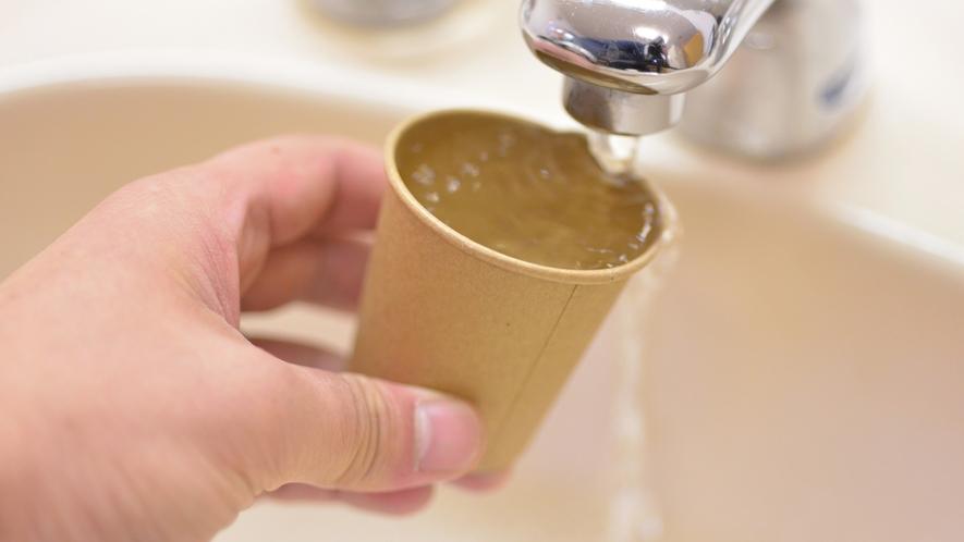 *女性用大浴場/自然豊かな場所だからこその新鮮なお水!水分補給を忘れずに♪
