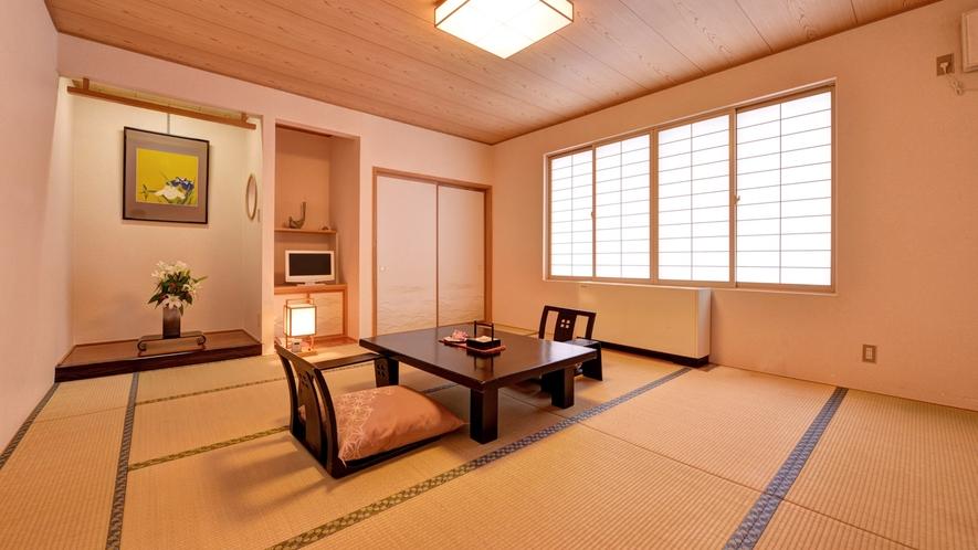 *◆別館◆和室一例/廊下から畳敷きの風情ある別館旅館タイプ。純和風の室内は広縁付きでゆったり。