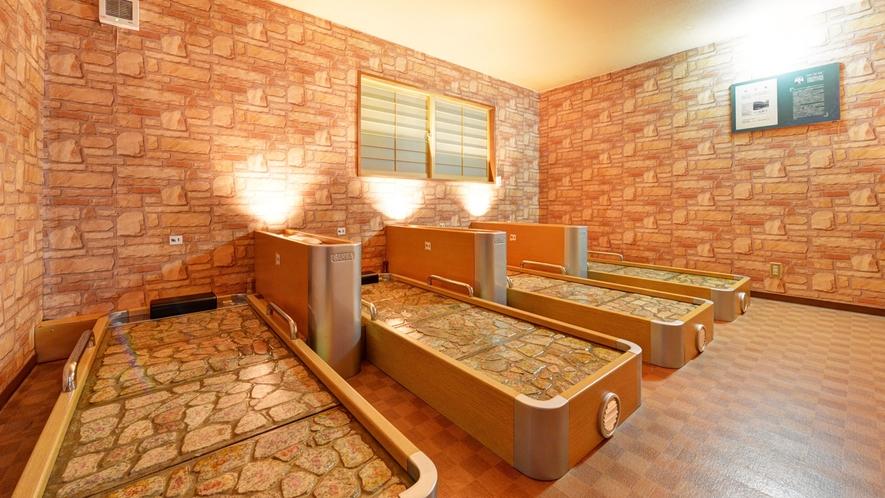 *岩盤浴/ベットタイプの岩盤浴ルームがございます!1時間880円・予約制