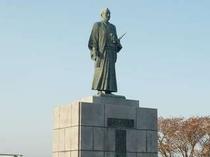 武市半平太の銅像