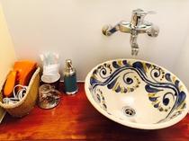 洗面所(ゆったりワンルーム)