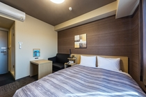 【お部屋】コンフォートセミダブルルーム  14平米  ベッド幅140cm