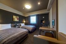 【お部屋】スタンダードツインルーム  19平米  ベッド幅110cm