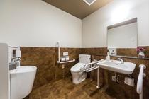 【館内】女性用・障碍者用のお手洗いです。