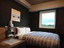 【お部屋】スタンダードダブルルーム  14平米 ベッド幅170cm