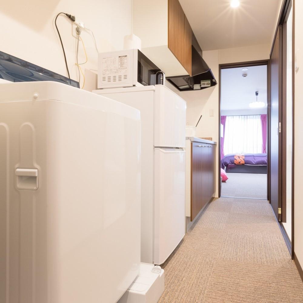 全室に洗濯機完備