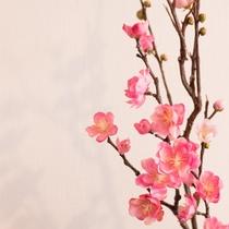 京都らしさを感じる梅の花