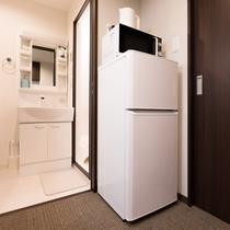 全室に冷蔵庫完備