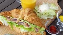 朝食食材(テラスモーニング)