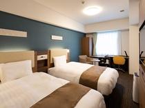 ◆2ベッドルーム◆ベッド幅123センチ×2台◆