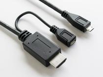 ◆貸出し備品◆HDMIケーブルを使用すれば客室テレビでスマホ動画がご覧いただけます◆
