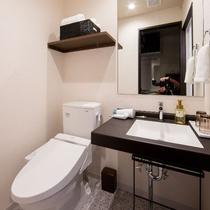 トイレ ・ 洗面※2点セパレート(ツインルーム・ダブルルーム)