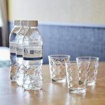 Rinnオリジナル飲料水をお部屋にご準備しております。(※初泊分のみ)