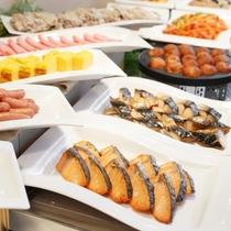 1階_アジアンレストランKarakurenai(唐紅花)_朝食料理イメージ