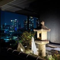 19階プレミアムモダンジャパニーズルーム_一部屋毎に趣の違う「天空の坪庭」
