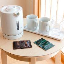 客室_お茶セット