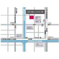 【駅近】市営地下鉄御堂筋線「本町駅」4番出口より徒歩2分