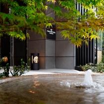 【大阪ビューホテル 本町】_エントランス水盤