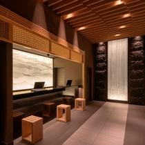 大阪ビューホテル 本町_フロント