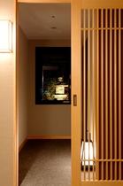 19階プレミアムモダンジャパニーズルーム_客室入口