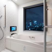18・19階客室_ビューバス ※お部屋によって見え方が異なります