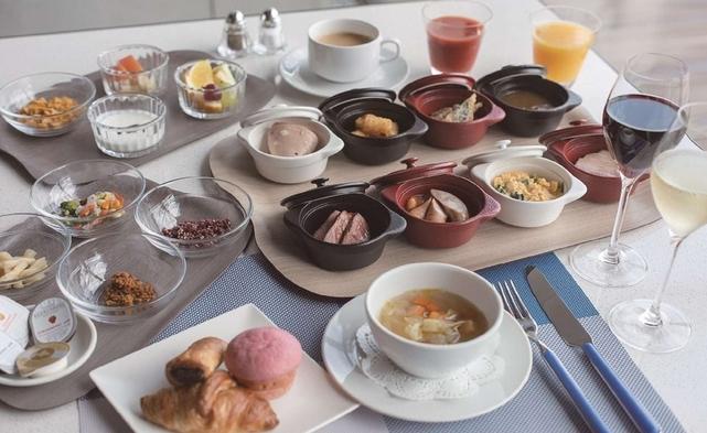 【圧巻の空港ビュー×朝食】おひとり1コイン(500円追加)で朝食付プラン☆