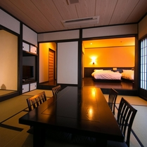 客室「山桜」室内
