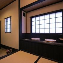 客室「山桜」玄関