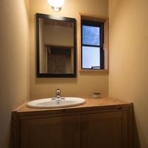客室「山桜」洗面所