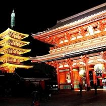 浅草寺-東京都内最古の寺-