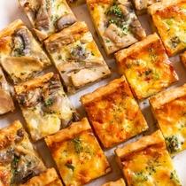 【朝食バイキング】手軽に食べられる人気のピザ