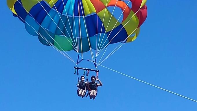 【パラセーリング】\アクティビティ付・2泊3日/風を感じながら空のお散歩!≪朝食付≫