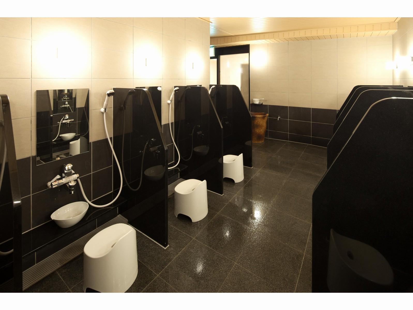 ◆大浴場◆洗い場1