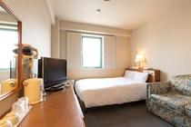 セミダブルルーム 14平米 ベッド幅120cm
