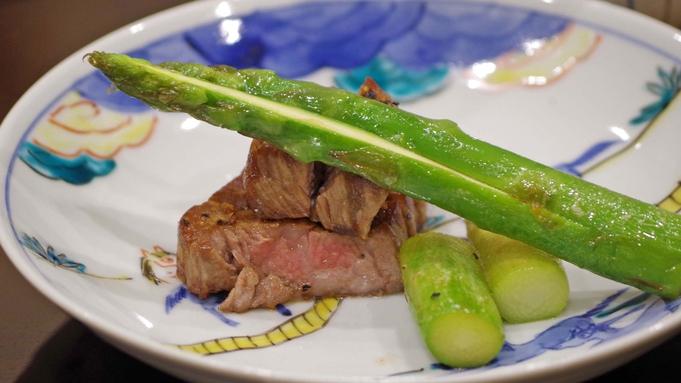 【黒毛和牛ディナーコース】オーベルジュならではの饗宴を食す