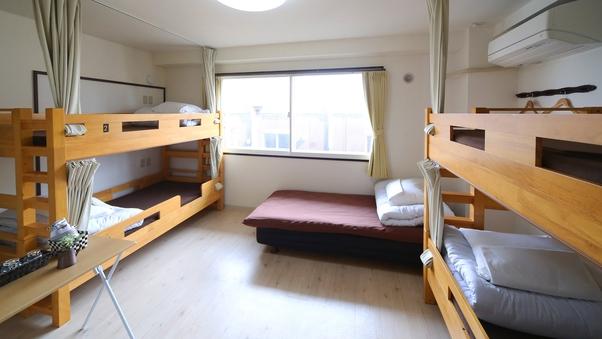 【禁煙】5人部屋(洋室)ユニットバス付