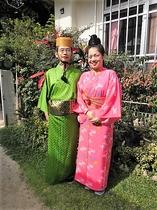 琉装体験夫婦