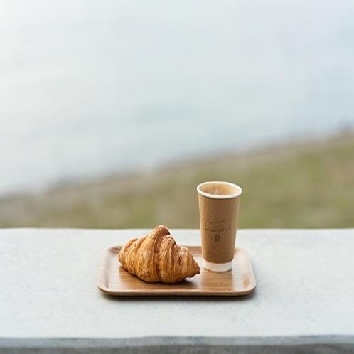 コーヒー&パン