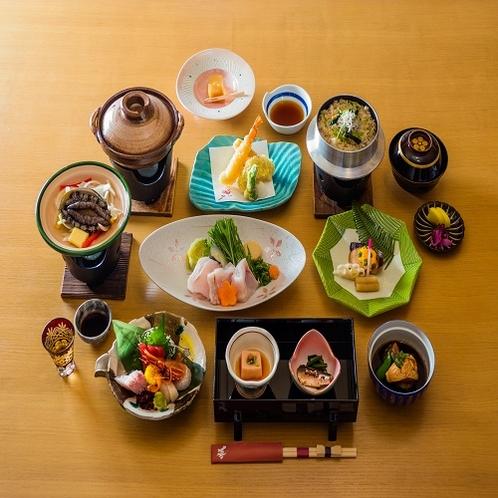 鮑踊り焼き付料理(一例)