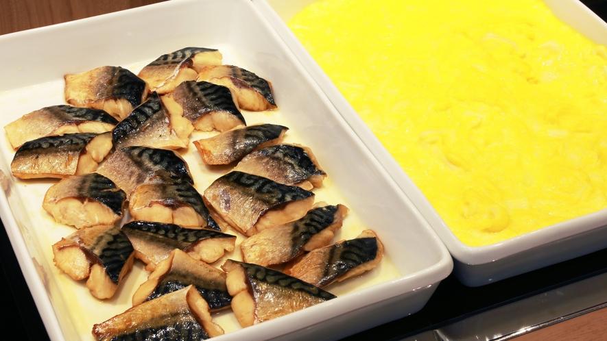 朝食<魚 卵料理>