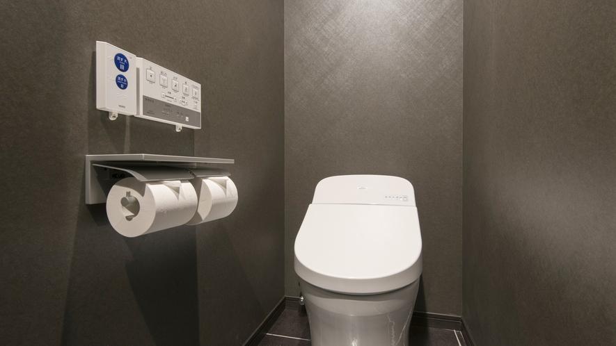 トイレ<バス・トイレ別 デラックスツイン完備>